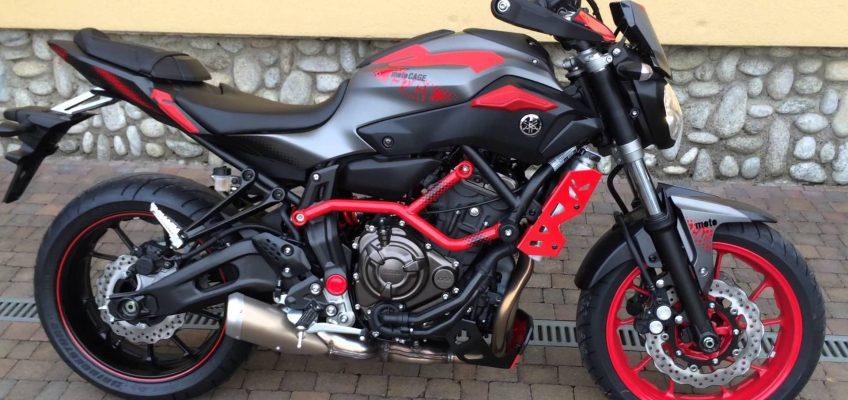 Moto Cage Mt 07 5Bin Km de
